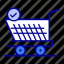 cart, retail, shopping, trolly