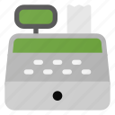 cash, commerce, counter, registry, shopping icon