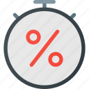 commerceoffer, discount, ecommerce, limited, time icon