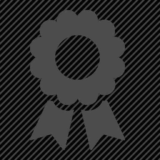 award, guaranteed, prize, ribbon icon