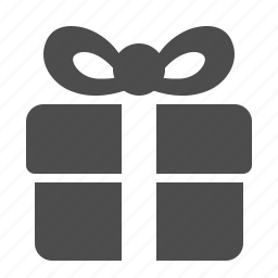 box, gift, gift box, present, ribbon, shopping icon