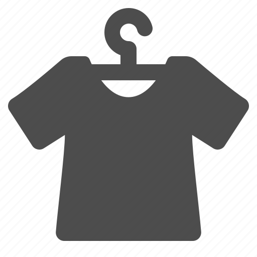clothes hanger, shirt, shopping, t-shirt icon