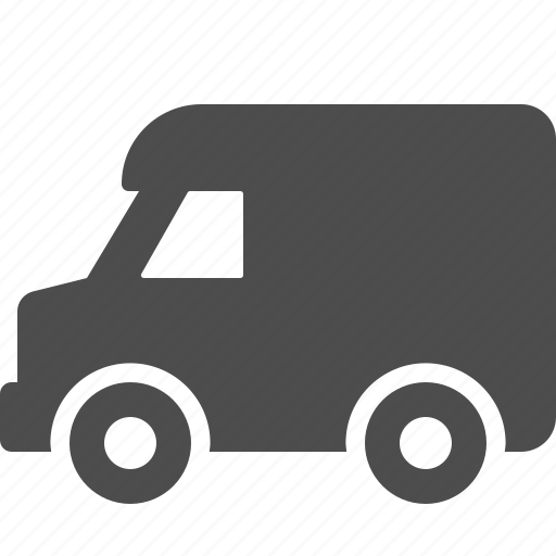 delivery, truck, van, vehicle icon