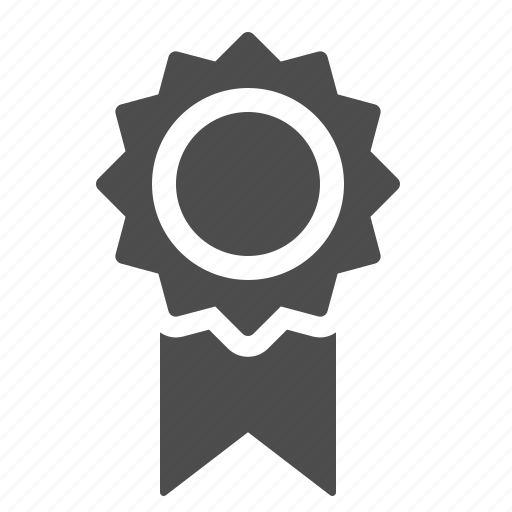 award, badge, medal, prize, ribbon icon
