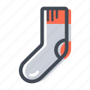 clothing, shop, sock, socks, wear icon