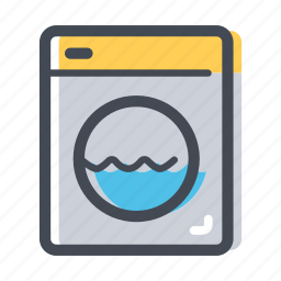 clean, clean clothes, shop, washing, washing machine icon