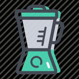 blender, grinder, juicer, liquidiser, mixer, shop icon
