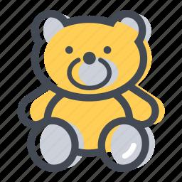 bear, cuddle, shop, teddy bear, toy icon