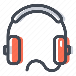 audio, headphones, headset, listen, music, shop icon