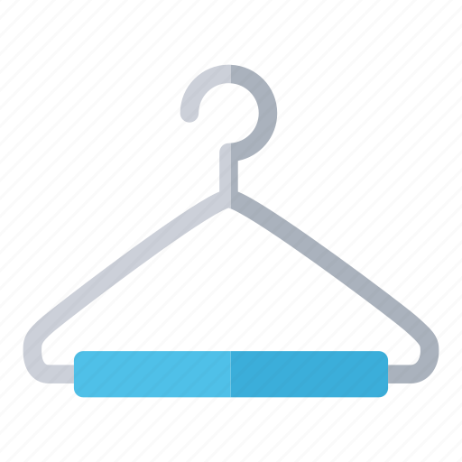 clothes hanger, coat hanger, dressmaker, hanger, shop, tailor icon