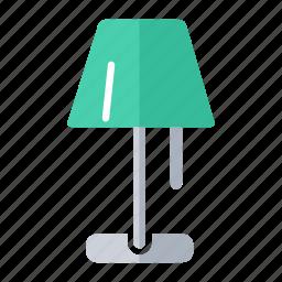 floor lamp, furniture, lamp, light, shop icon