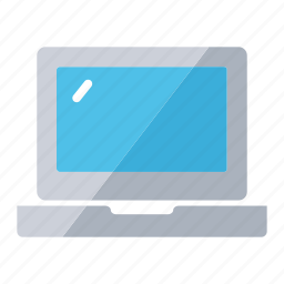 computer, device, laptop, notebook, shop icon