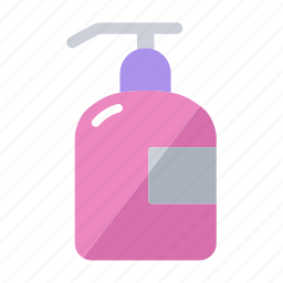 cleaning, cosmetic, gel, hand, shop, soap dispenser, washing icon