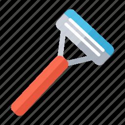 cosmetic, razor, razor blade, shave, shaving, shaving razor, shop icon