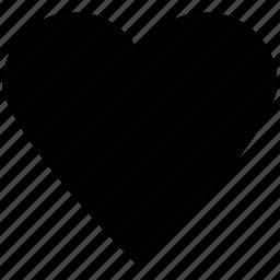 heart, heart shape, love, romance, valentine icon