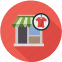 apparel store, clothing store, dry cleaner, store icon
