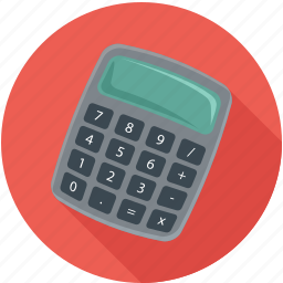 calculator, math, mathematics icon