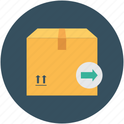 box, courier box, delivery box, package, parcel box, shopping, storage icon