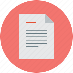 bill, chronicle, invoice, list, note, statement icon