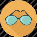 apparel, clothing accessories, glasses, sun glasses icon
