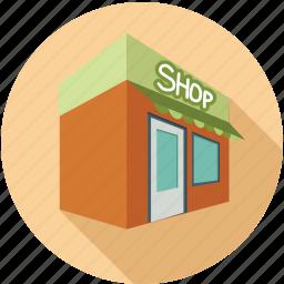 corner store, online shop, shop, store icon