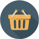 basket, online cart, shopping, shopping basket icon