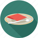 dinner, dinner plate, dish, food dish icon