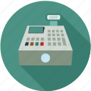 cash register, checkout, register icon