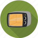 bread oven, mini oven, oven icon