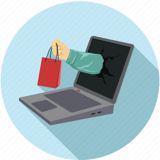 online shopping, online store, overnight delivery, shopping icon