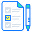 agreement, clipboard, detail, shopping, shopping list, tasks, wishlist icon