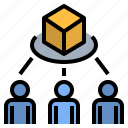 customer, demand, distribution, sharing, trading
