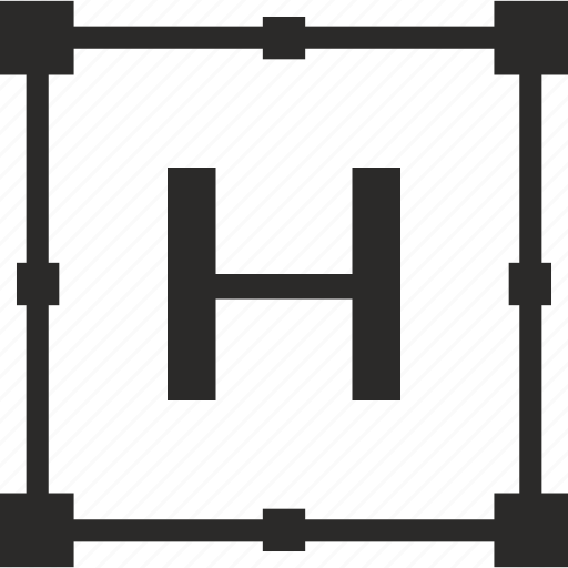 h, key, latin, letter, transform icon