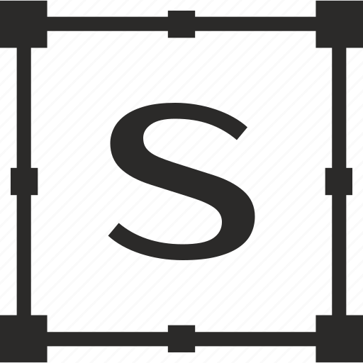 key, latin, letter, s, transform icon