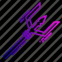 damru, drum, shiva, spear, trident, trishula, weapon