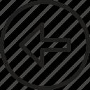 arrows, arrows line, expanding arrows, left arrow, media option icon