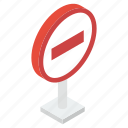 block symbol, denied symbol, forbidden symbol, prohibition, spam sign, stop sign icon