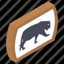 animal area, animal board, animal sign, animal signboard, zoo symbol icon