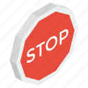 direction board, stop banner, stop emblem, stop sign, stop symbol icon