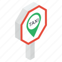 cab location, taxi address, taxi location, taxi pointer, taxi stop icon