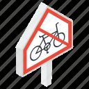 cycle ban, cycling block, cycling prohibition, forbidden cycle, no cycling, stop cycling icon