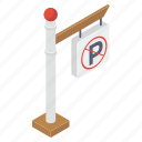 no parking, parking ban, parking prohibition, road board, stop parking icon