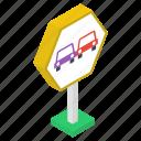 car lane, car place, car sign, car way, car way symbol icon