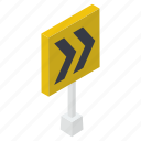direction arrow, fast forward, forward symbol, right sign, road sign, traffic sign icon