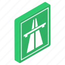 highway, passageway, road sign, roadway, route, underpass sign icon