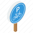 cycle parking, parking board, parking place, parking sign, parking symbol, road board