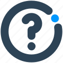ask, help, mark, question, sign icon