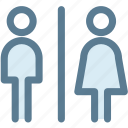 bathroom, navigation, public toilet, restroom, sign, toilet icon