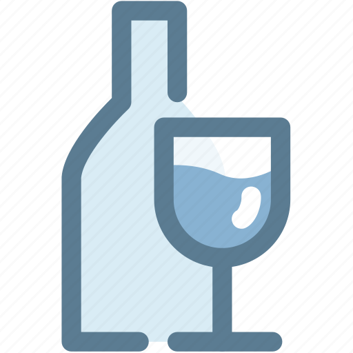 drink, glass, knife, navigation, restaurant, sign, wine glass icon
