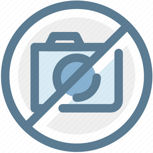 digital camera, museum, navigation, no camera, no photography, no pictures, sign icon
